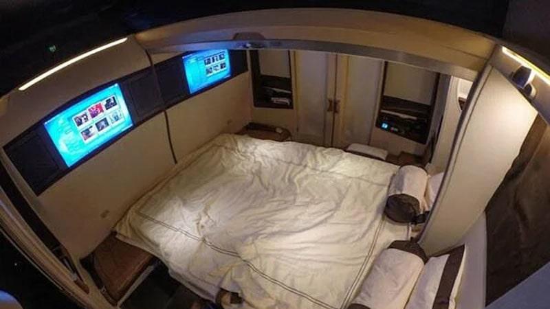 las suites de aviones mas lujosas del mundo