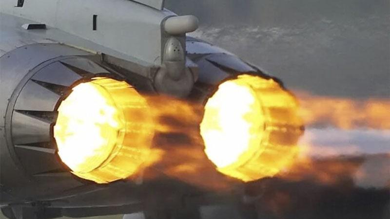la postcombustion permite aumentar la velocidad a costa de aumentar el consumo de combustible