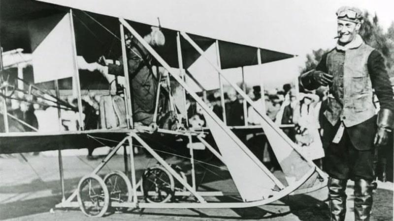 calbraith perry rodgers cruzando los estados unidos, su mecanico de aviones, charles edward taylor
