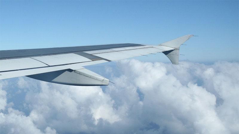 Descargadores de electricidad estática de un Airbus A320
