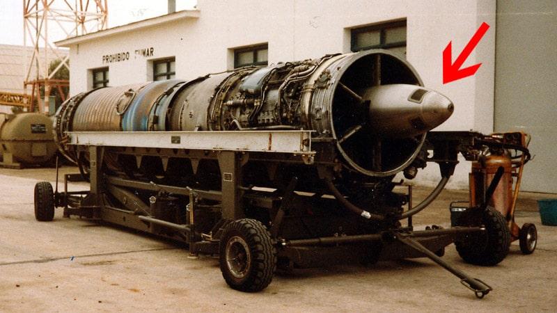 el motor snecma atar 09c lleva integrado el starter o arrancador