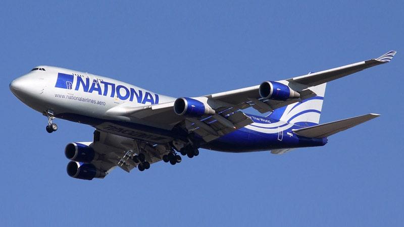 boeing 747 implicado en el accidente aereo